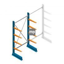 Draagarmstelling MP Enkelzijdig 2000x1000x500mm (hxbxd) 4 niveaus 150kg
