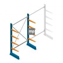 Draagarmstelling MP Enkelzijdig 2000x1250x500mm (hxbxd) 4 niveaus 150kg