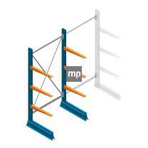 Draagarmstelling MP Enkelzijdig 2000x1000x600mm (hxbxd) 3 niveaus 150kg