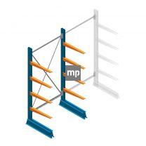 Draagarmstelling MP Enkelzijdig 2000x1000x600mm (hxbxd) 4 niveaus 150kg