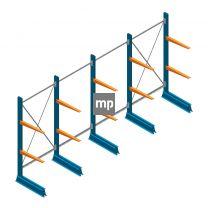 Voordeelrij MP Draagarmstelling Enkelzijdig 2000x4100x500mm (hxbxd) 2 niveaus 150kg