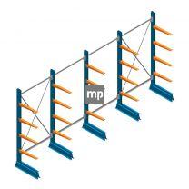 Voordeelrij MP Draagarmstelling Enkelzijdig 2000x5100x500mm (hxbxd) 4 niveaus 150kg