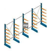 Voordeelrij MP Draagarmstelling Enkelzijdig 2000x5100x500mm (hxbxd) 5 niveaus 150kg