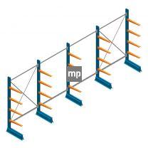Voordeelrij MP Draagarmstelling Enkelzijdig 2000x4100x600mm (hxbxd) 4 niveaus 150kg