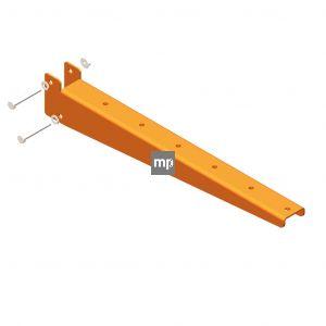 Draagarm MP Draagarmstelling 500mm RAL2008 150kg