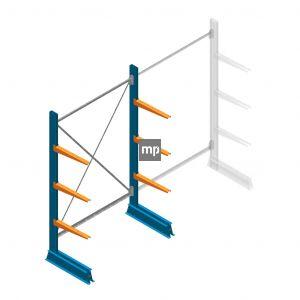 Draagarmstelling MP Enkelzijdig 2000x1250x500mm (hxbxd) 3 niveaus 150kg