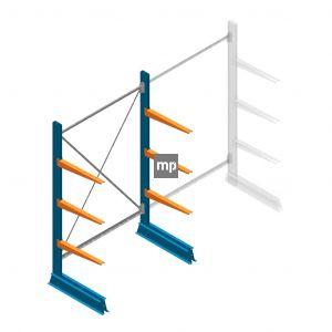 Draagarmstelling MP Enkelzijdig 2000x1250x600mm (hxbxd) 3 niveaus 150kg