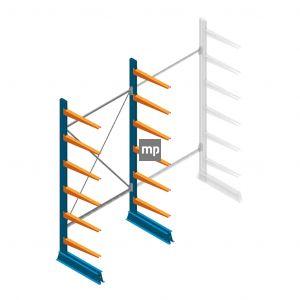 Draagarmstelling MP Enkelzijdig 2500x1250x600mm (hxbxd) 6 niveaus 150kg
