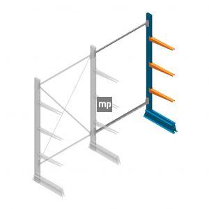 Aanbouwsectie MP Draagarmstelling Enkelzijdig 2000x1250x500mm (hxbxd) 3 niveaus