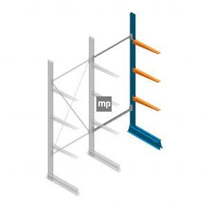 Aanbouwsectie MP Draagarmstelling Enkelzijdig 2500x1000x600mm (hxbxd) 3 niveaus
