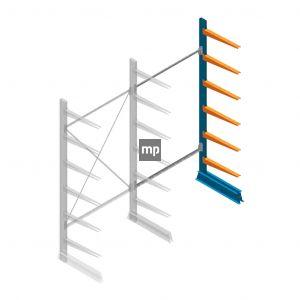 Aanbouwsectie MP Draagarmstelling Enkelzijdig 2500x1250x600mm (hxbxd) 6 niveaus